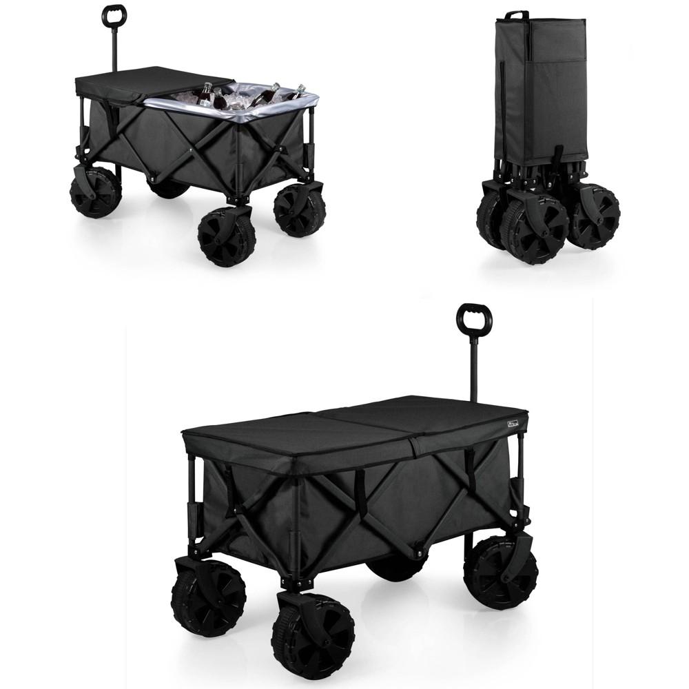 Image of Picnic Time Adventure Wagon All Terrain Elite Edition - Black