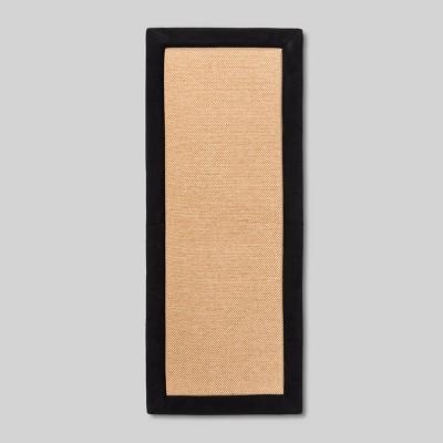 Black Border Floor Mat 1'8 x 2'4  - Threshold™