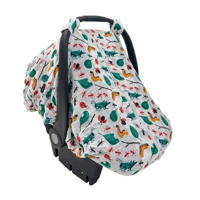 Bebe au Lait Muslin Car Seat Cover - Bug