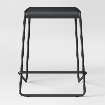24  Metal Counter Stool Black - Project 62™