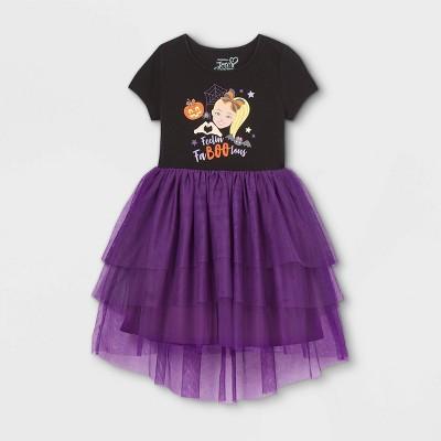 Girls' JoJo Siwa Fa-boo-lous Tutu Dress - Black