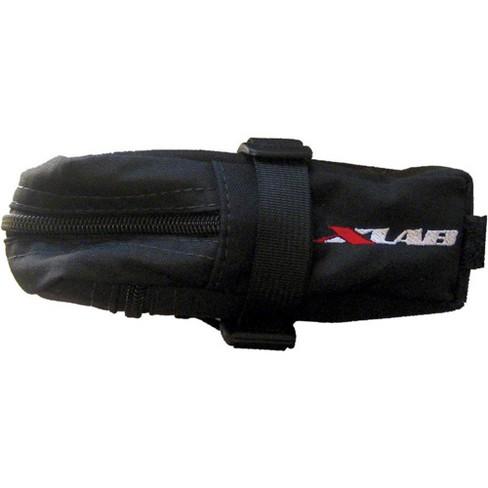 X-Lab Mezzo Seat Bag Black Tough Woven Nylon With Zip Pockets 78G - image 1 of 1