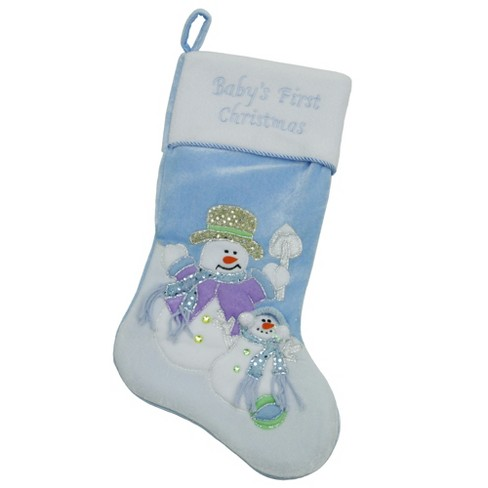 Northlight 20 Quot Light Blue Quot Baby S First Christmas