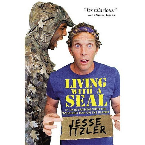 Living with a Seal - by  Jesse Itzler (Hardcover) - image 1 of 1