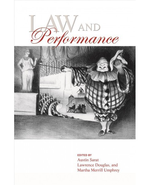 Law and Performance -  (Hardcover) - image 1 of 1