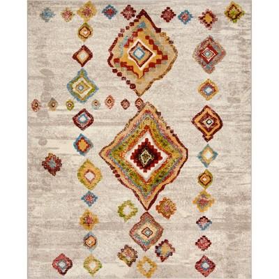Leonor Geometric Design Loomed Rug - Safavieh