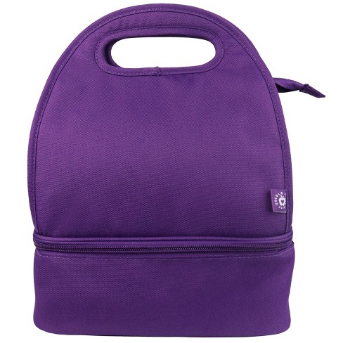Double Dutch Club Dual Lunch Bag - Purple - image 1 of 7