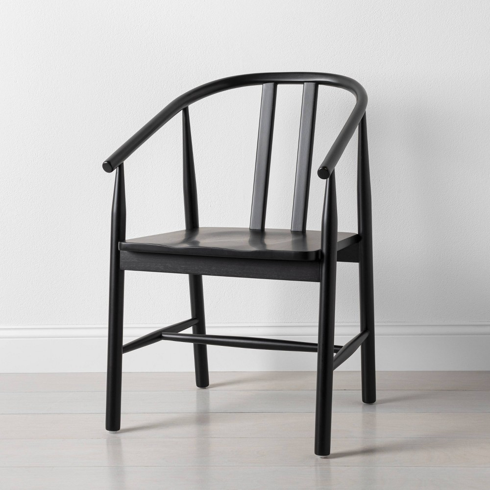Sculpted Wood Dining Chair Black Hearth 38 Hand 8482 With Magnolia