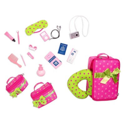 Our Generation Travel Luggage and Accessory Set