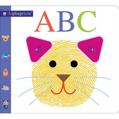Alphaprints ABC by Roger Priddy (Board Book)