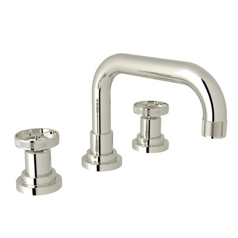 Rohl A3318IW-2 Campo 1.2 GPM Widespread Bathroom Faucet with Pop-Up Drain Assembly - image 1 of 1