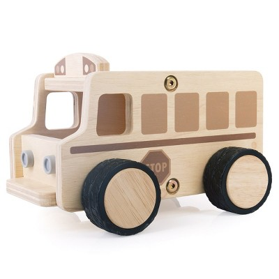 Guidecraft Wooden School Bus