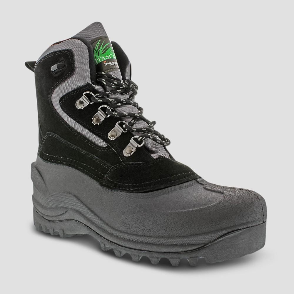Winter Boots Itasca Lutsen Black 7, Men's