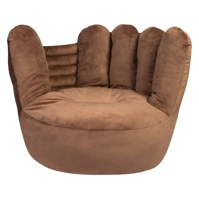 Baseball Glove Plush Character Chair - Trend Lab