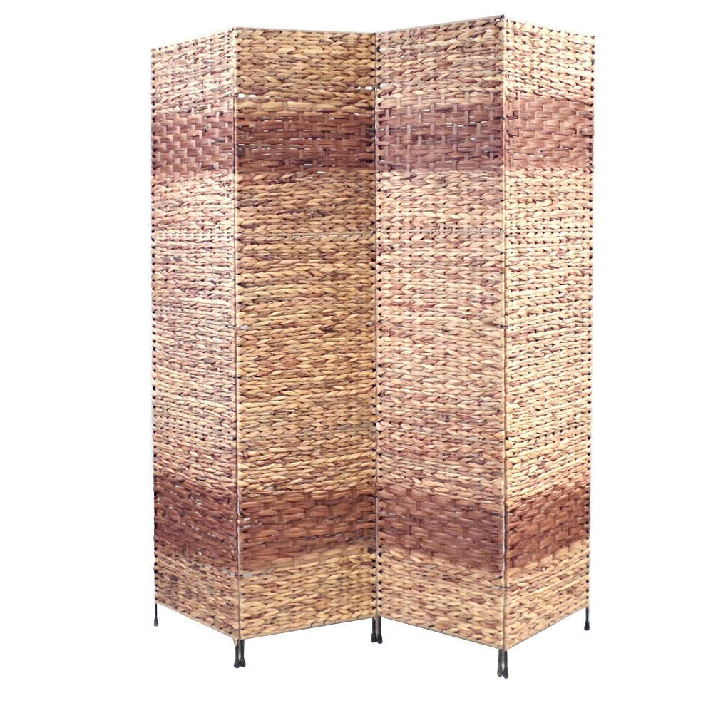 Image of Jakarta Room Divider Screen 4 Panel - Proman Products