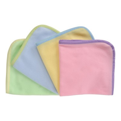 Kaplan Early Learning Soft and Cozy Doll Blankets  - Set of 4