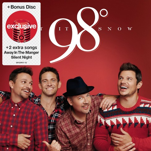 98 Degrees Let It Snow - Greatest Hits (2 CD) (Target Exclusive) - image 1 of 1