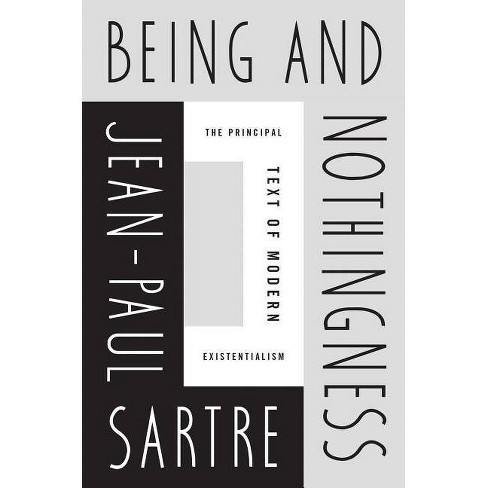 Being and Nothingness - by  Jean-Paul Sartre (Paperback) - image 1 of 1