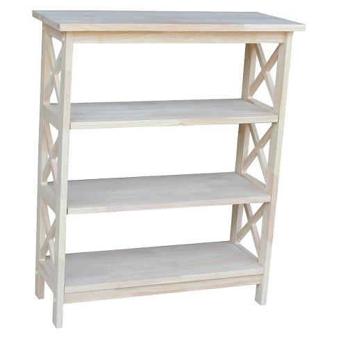 """36"""" X-Sided Shelf Unit Unfinished - International Concepts - image 1 of 3"""