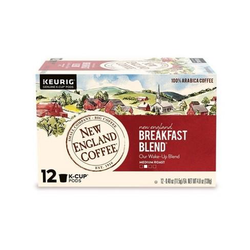 New England Breakfast Blend Medium Roast - Keurig K-Cup Pods - 12ct - image 1 of 4