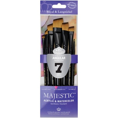 Majestic Angular Brush Set-7/Pkg
