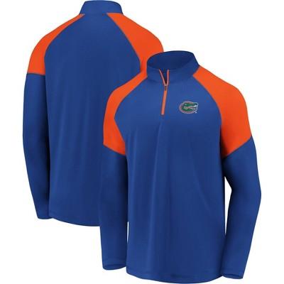 NCAA Florida Gators Men's 1/4 Zip Sweatshirt