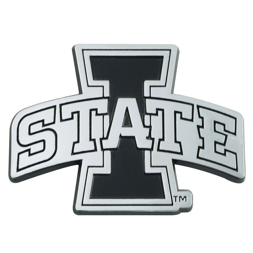 Ncaa Iowa State Cyclones University 3d Chrome Metal Emblem
