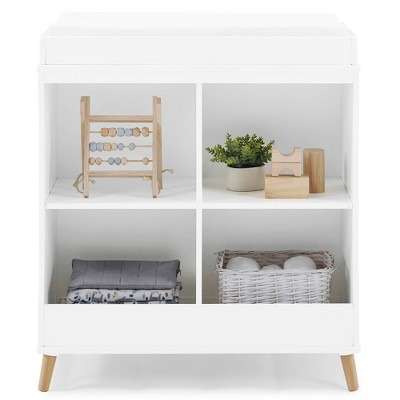 Delta Children Jordan Convertible Changing Table and Bookcase - White