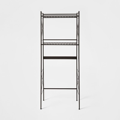 Square Tube Over The Toilet Etagere Bronze - Threshold™