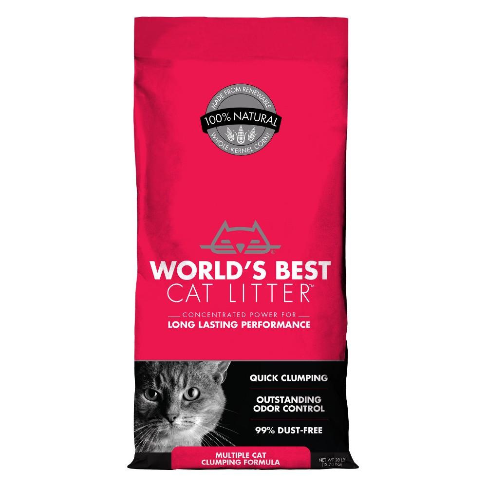 World's Best - Multi-Cat Clumping Forumla Litter - 28lb, White