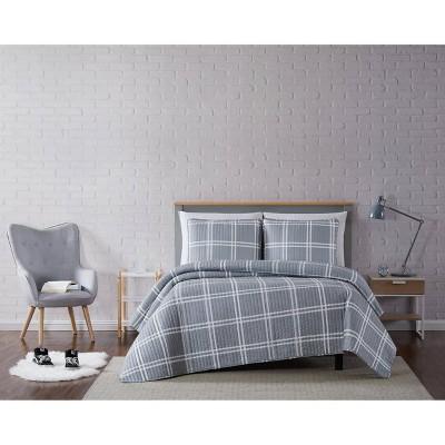 Truly Soft Everyday Leon Plaid Quilt Set