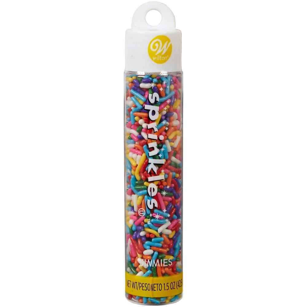 Image of Wilton 1.5oz Jimmies Rainbow Sprinkles