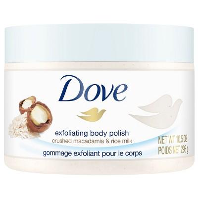 Body Washes & Gels: Dove Exfoliating Body Polish
