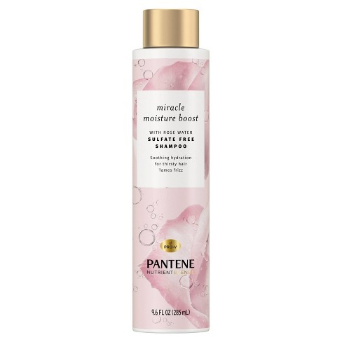 Pantene Blends Moisture Boost With Rosewater Shampoo - 9.6 fl oz - image 1 of 4