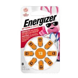 Energizer Hearing Aid Size 13 Batteries, 8 ct (AZ13DP-8)