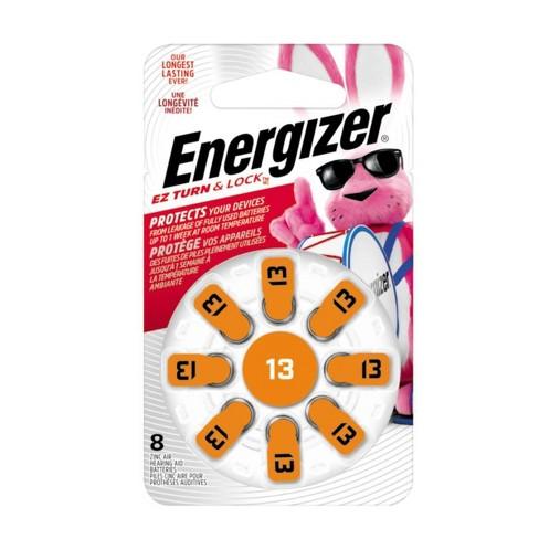 Energizer 8pk 13 Hearing Aid Batteries Orange - image 1 of 2