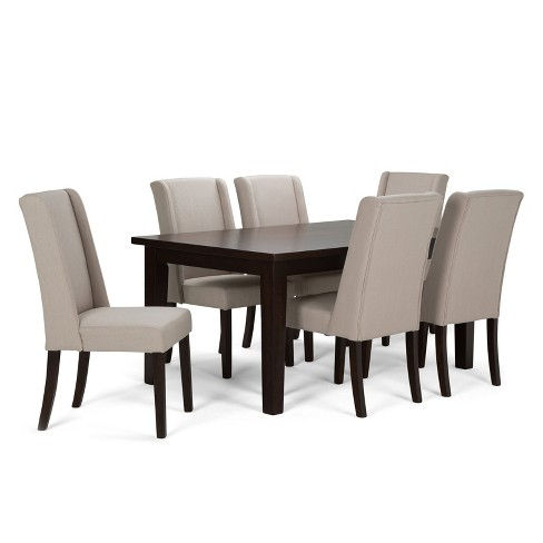 Sotherby 7 Piece Dining Set - Natural - Simpli Home - image 1 of 6