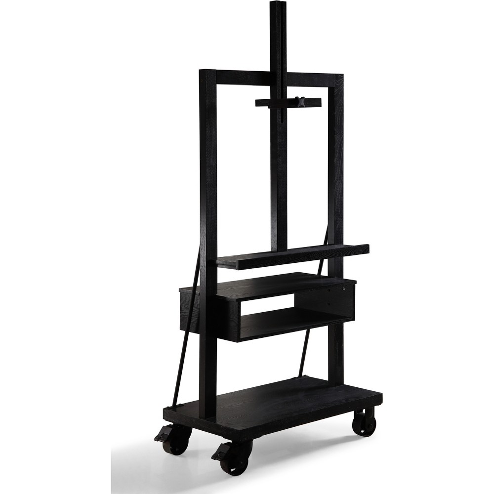Image of Cullen TV Media Entertainment Stand Black - Haven Home