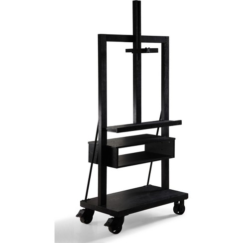Cullen TV Media Entertainment Stand Black - Haven Home - image 1 of 4
