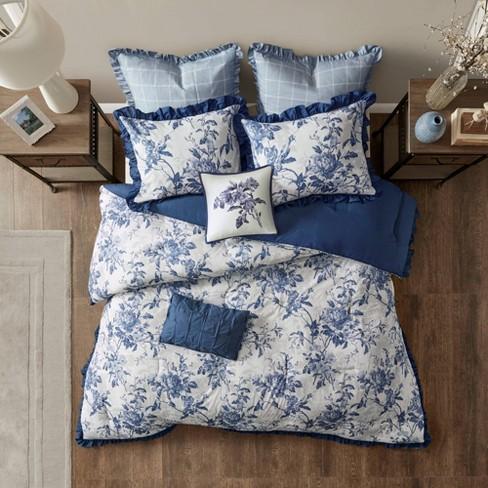 Aimatia Cotton Printed Ruffle Comforter Set - image 1 of 4
