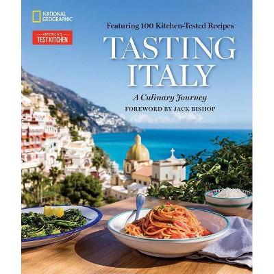 Tasting Italy - by Eugenia Bone & Julia Della Croce (Hardcover)