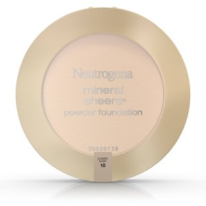Neutrogena Mineral Sheers Compact Powder - 10 Classic Ivory, Classic Ivory 10