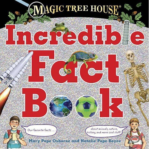 Magic Tree House Incredible Fact Book - (Stepping Stone Books) (Hardcover) - image 1 of 1