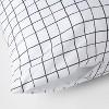 Microfiber Body Pillow Cover 2pk Gray - Room Essentials™ - image 3 of 4