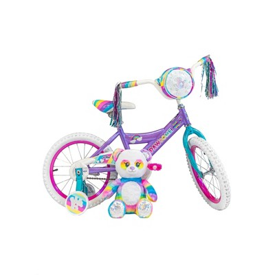 "Dynacraft Build-A-Bear 16"" Kids' Bike - Purple"