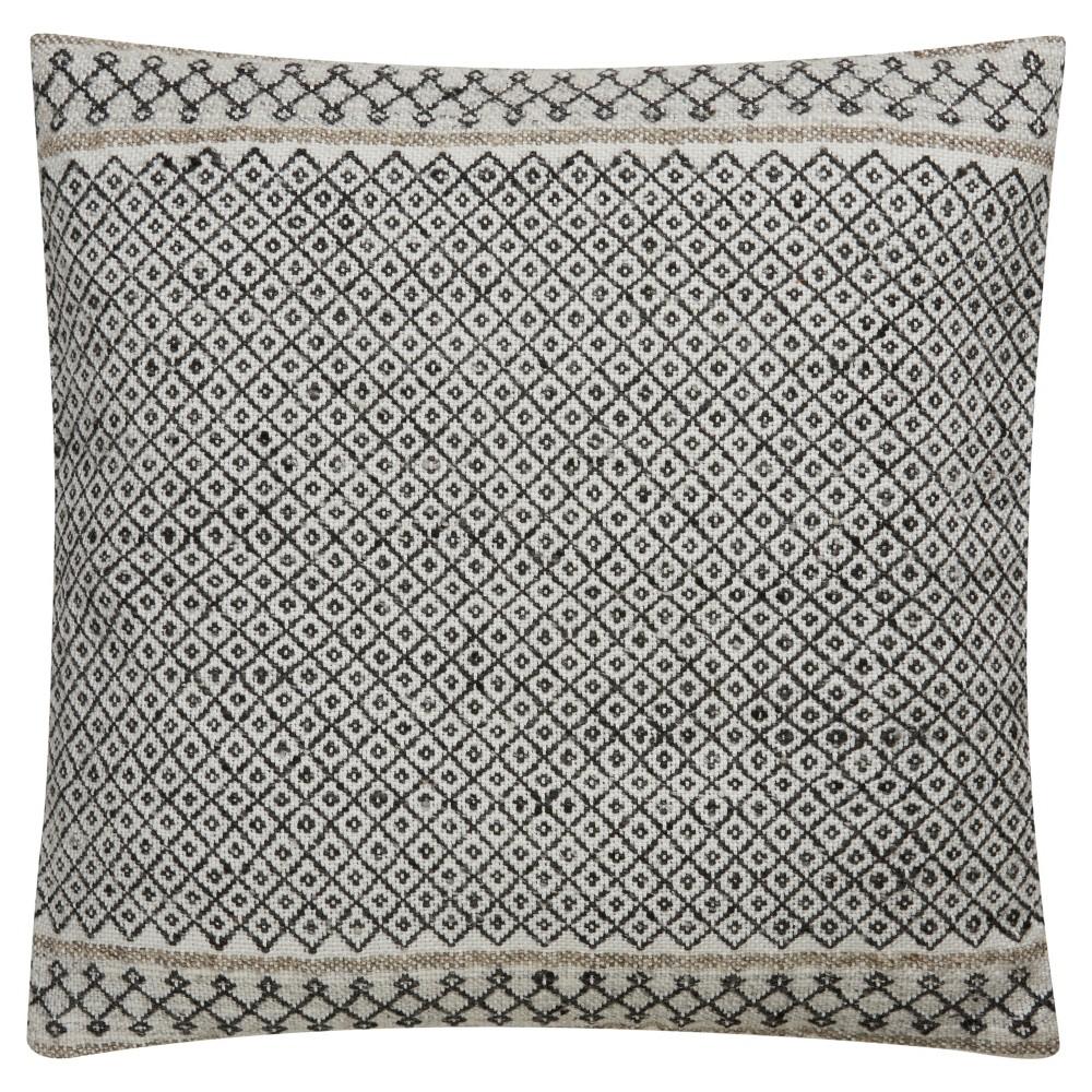 Off-white (Beige) Throw Pillow (18