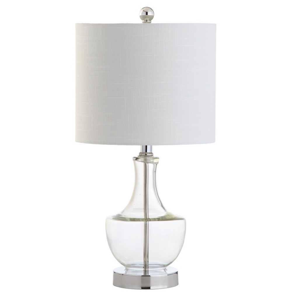 20 Colette Mini Glass Led Table Lamp Clear - Jonathan Y