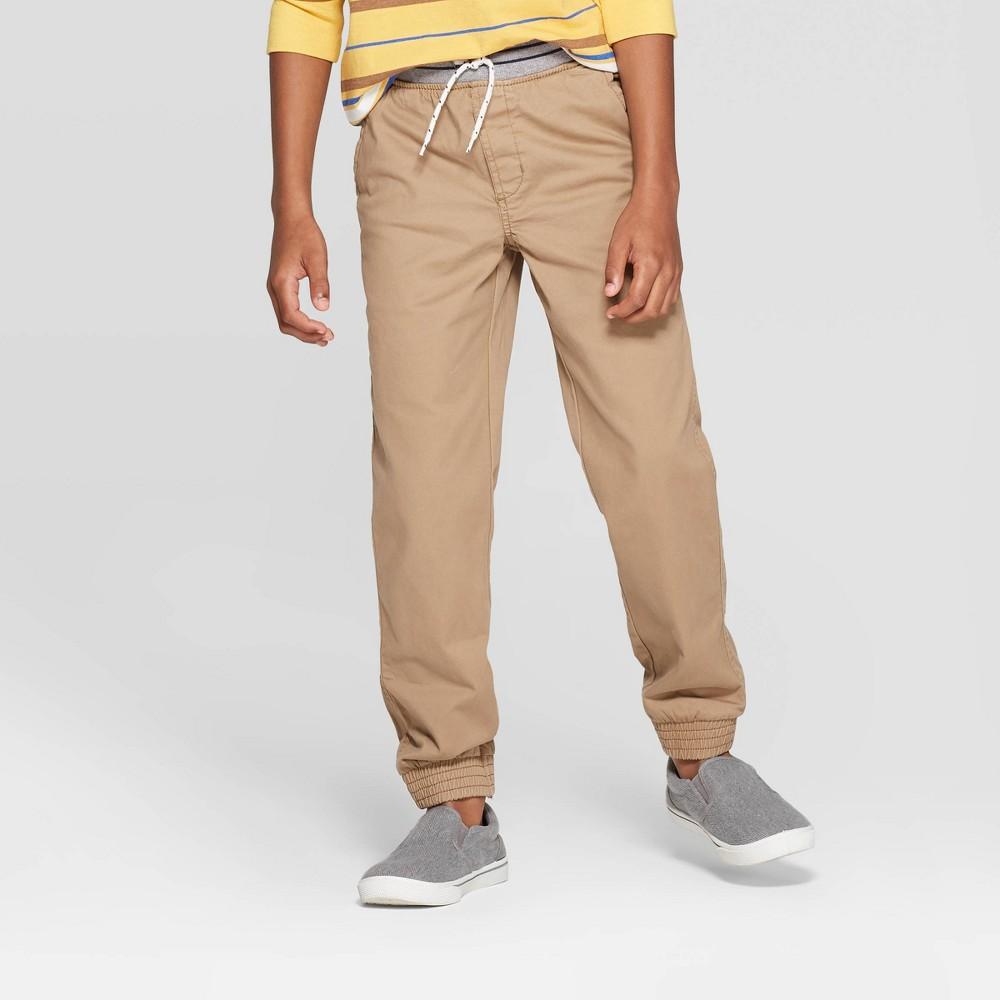Image of Boys' Jogger Pants - Cat & Jack Beige 10, Boy's