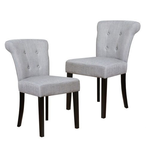Orchard Fabric Dining Chair - Gray (Set of 2) - Christopher Knight Home - image 1 of 4