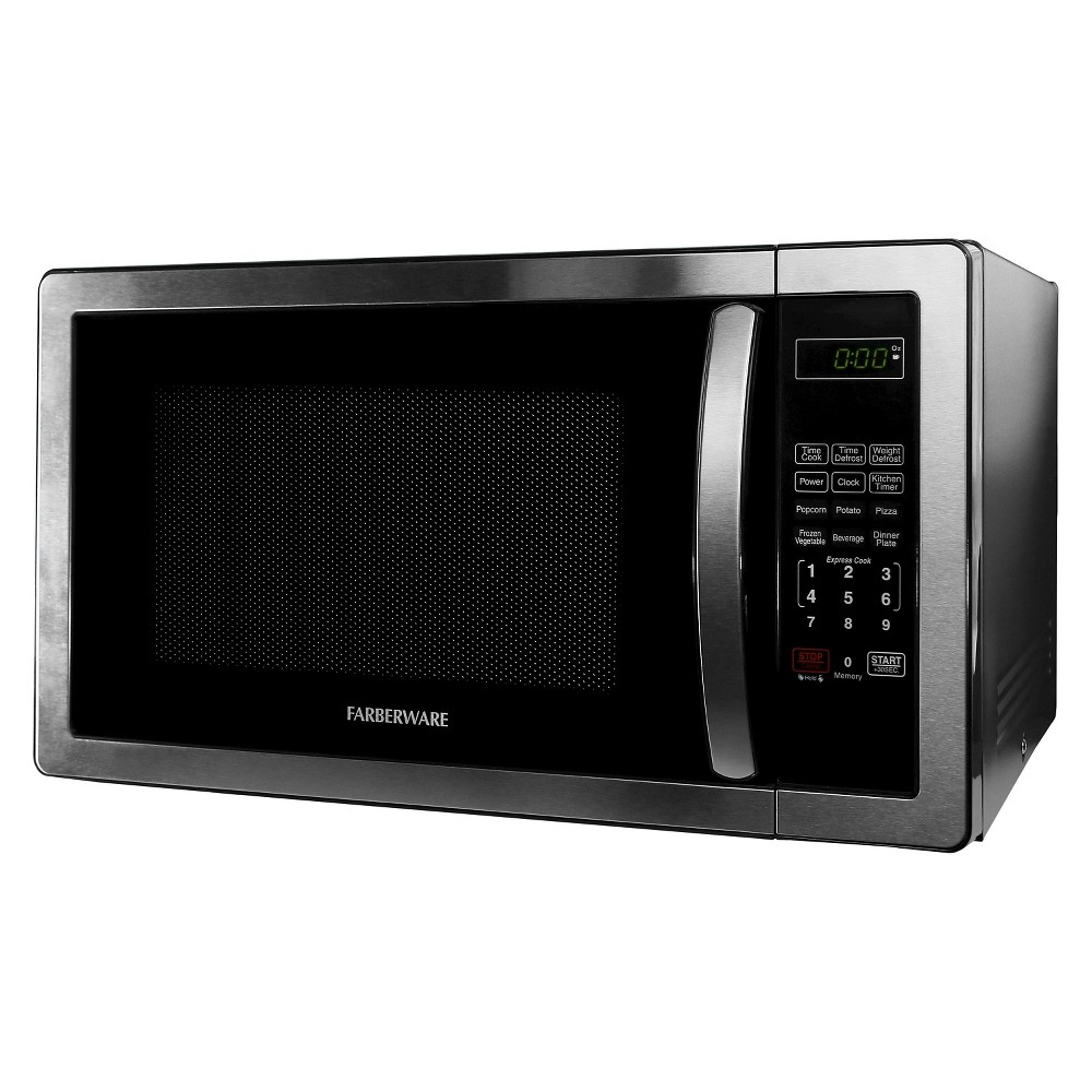 Farberware Classic 1.1 Cu. Ft. 1000 Watt Microwave Oven, Medium Silver 51190615